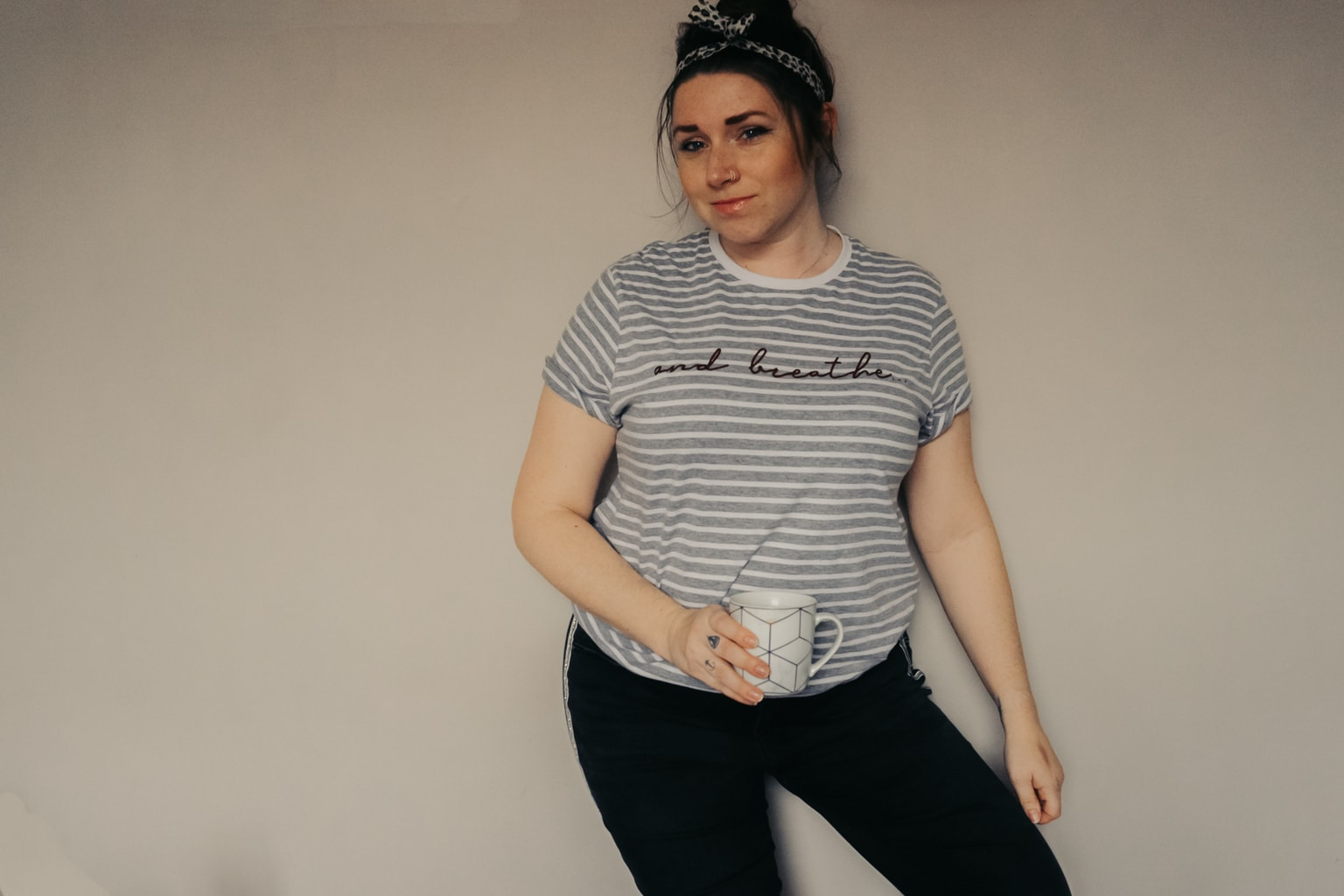 Ada and Alfred striped top